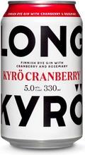 Kyrö Long Drink Cranberry, 330Ml, 5,0% Alc. Vol.
