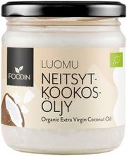Foodin Kylmäpuristettu Neitsytkookosöljy 400Ml