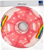 Heat Balloon Riisipaperivarjostin 40Cm Oranssi