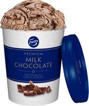 Fazer Premium Kermajäätelö Maitosuklaa 283G/480Ml