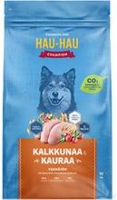 Hau-Hau Champion Kalkkunaa Ja Kauraa Täysravinto Aikuisille Koirille 10 Kg