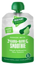 Planeettaystävällinen Green Planet Astronauts Kaura-Kesäkurpitsa-Päärynä-Smoothie 100G Välipala, Luomu