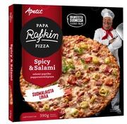 Papa Rafkin Spicy&Salami Pakastepizza 390G
