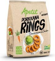 Apetit Porkkanarings Sourcream&Onion Pakaste 250G