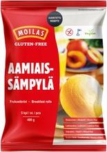 Moilas Gluten-Free Aamiaissämpylä 5Kpl/400G, Pakaste