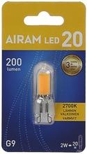 Airam Led Lamppu 2W Gu9 250Lm 2700K