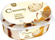 Ingman Creamy 850Ml / 475G Jäätelö Kotipakkaus Crème Brûlée