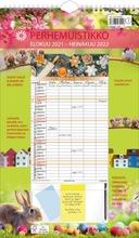 Seinäkalenteri Perhemuistikko