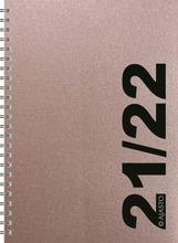 Pöytäkalenteri Simple, Ruusukulta