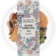Amarillo Halloumi & Hummus Bowl Salaatti 350 G