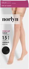Norlyn Naisten Stay Up Sukat 15Den