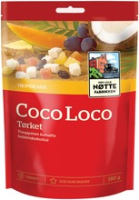 Den Lille Nøttefabrikken Coco Loco Trooppinen Hedelmäsekoitus 180G