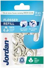 Jordan Easy Clean Flosser refill täyttöpakkaus 20kpl