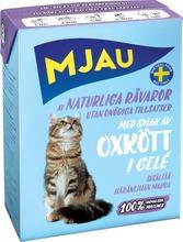 Mjau Nautaa Hyytelössä 380G Kissanruoka