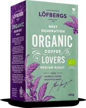 Löfbergs Organic Medium Roast 450G Kahvi Luomu
