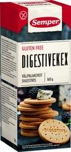Semper 160G Gluteenittomat Digestive Välipalakeksit