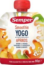 Semper 90G Smoothie Banaani Aprikoosi Jogurtti Alkaen 6 Kk