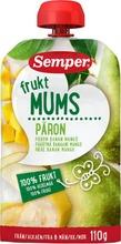 Semper Fruktmums Päärynä 110G, Päärynää, Banaania Ja Mangoa Hedelmäsose Alk. 6 Kk