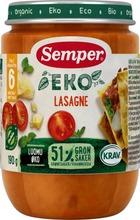Semper Eko 190G Lasagne, Alkaen 6 Kk Luomu Lastenateria