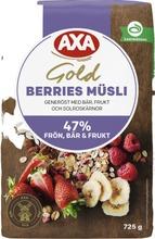 AXA Gold Muesli Berries  725 g