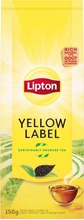 Lipton 150G Yellow Label Tea Musta Irtotee