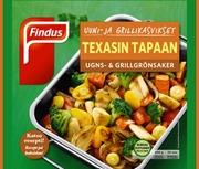 Findus Uuni- & Grillikasvikset Texasin Tapaan 500G, Pakaste
