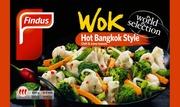 Findus Wok Hot Bangkok Style 450G, Pakaste