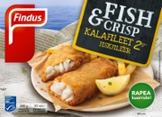 Findus Fish & Crisp Kalafileet Msc 240G, Pakaste