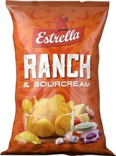 Estrella Sourcream & Ranch Chips 275G