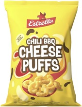 Estrella Cheese Puffs Chili BBQ 225g