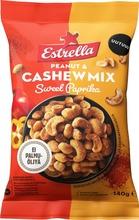 Estrella Sweet Paprika Maapähkinä & Cashew Sekoitus 140G