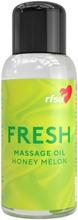 RFSU FRESH Hunajamelonin tuoksuinen hierontaöljy 100 ml