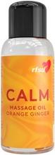 Rfsu Calm Appelsiinin- Ja Inkiväärintuoksuinen Hierontaöljy 100Ml