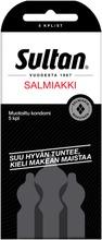Sultan Salmiakki Kondomi 5Kpl