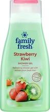 Family Fresh Strawberry Kiwi Shower Gel Suihkugeeli 500Ml