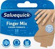 Salvequick Finger Mix Laastari 18Kpl