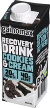 Gainomax Recovery Drink Cookie&Cream Palautusjuoma 250Ml