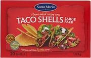 Santa Maria 225G Taco Shells Big Pack