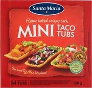 Santa Maria 120G Mini Taco Tubs