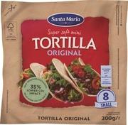 Santa Maria 200G Tex Mex Tortilla Original Small (8-Pack)