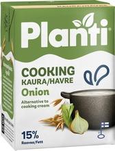 Planti Cooking sipuli kaurapohjainen ruoanlaittovalmiste 15% rasvaa 2dl