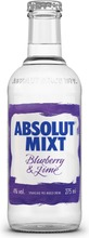 Absolut Mixt Blueberry & Lime 275Ml 4%