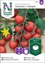 Nelson Garden Siemen Tomaatti, Kirsikka-, Gardener´s Delight