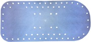Dalobad Liukuestematto 74X35cm Sininen