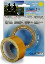 Stokvis Tapes Heijastava Teippi 25Mm 2M Keltainen