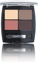 Isadora 5G Eye Shadow Quartet 14 Peach Avenue Luomiväri