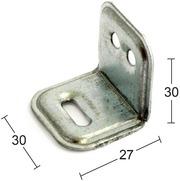Habo Kalustekulma 502 30X30mm 40Kpl