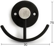 Habo Koukku Smile Musta