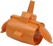 Gelia Haaroituspistorasia 2-Osainen Ip44 Oranssi