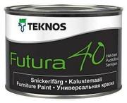 Teknos Futura 40 Kalustemaali 0,45L Pm3 Sävytettävä Puolikiiltävä